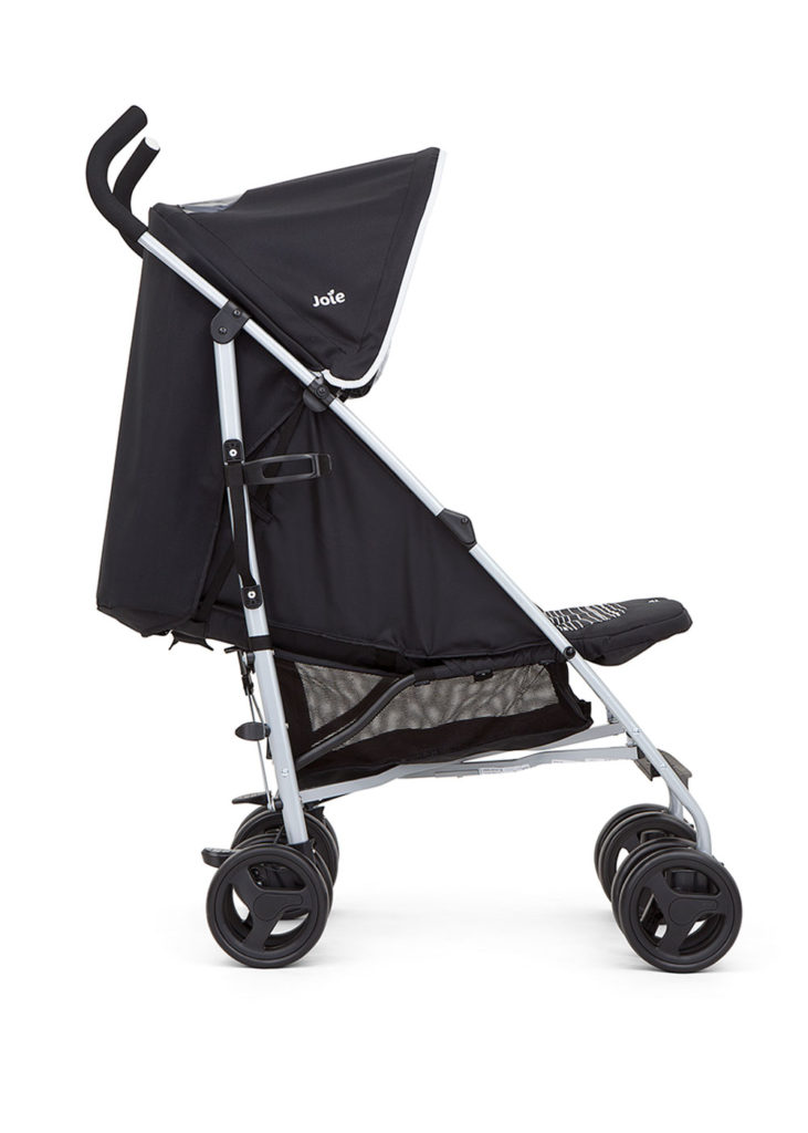JOIE BLACK NITRO STROLLER//BUGGY With Raincover.